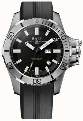 Ball Watch Company Ingenieur koolwaterstof 42mm rubber rubberboot onderzeeërvoering DM2276A-PCJ-BK