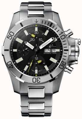 Ball Watch Company Ingenieur koolwaterstof 42mm onderzeeër oorlogvoering chronograaf DC2276A-SJ-BK