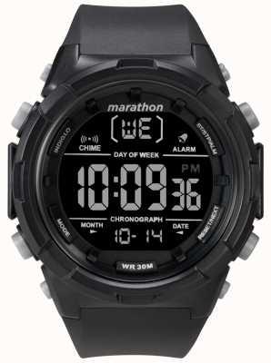 Timex Heren 50mm zwarte zwarte band TW5M22300