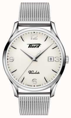 Tissot Mens visodate heritage quartz stainless steel T1184101127700