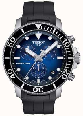 Tissot Heren seastar 1000 quartz chronograaf roestvrij staal T1204171704100