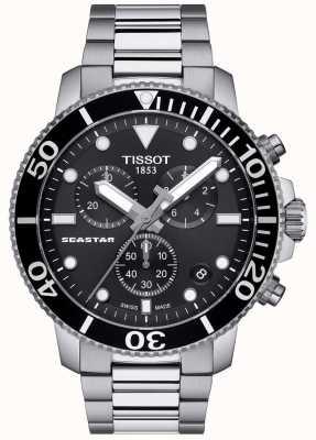 Tissot Seastar 1000 quartz chronograaf heren zwart/roestvrij staal T1204171105100