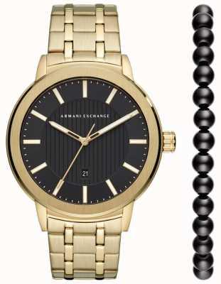 Armani Exchange Stedelijke horlogegiftset heren AX7108