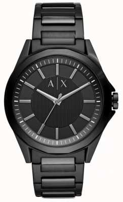 Armani Exchange Zwart roestvrij staal heren AX2620