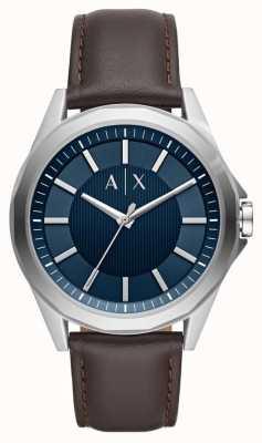 Armani Exchange Armani ruil heren dress watch bruine band AX2622