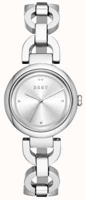 DKNY Dames eastside horloge roestvrij stelen NY2767