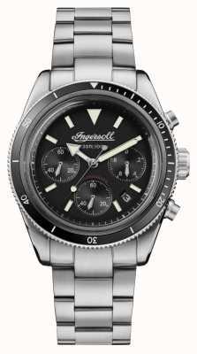 Ingersoll Het scovill automatische chronograaf roestvrij staal I06201