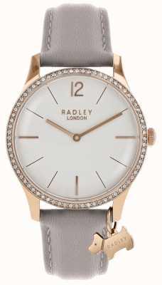 Radley Dameshorloge rosé gouden kastas lederen band RY2702