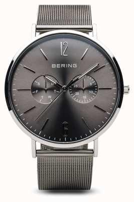 Bering Klassiek | gepolijst zilver | heren 14240-308