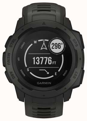 Garmin Instinct grafiet outdoor gps siliconen band 010-02064-00