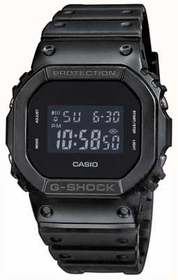 Casio G-shock black band voor heren met g-shock DW-5600BB-1ER