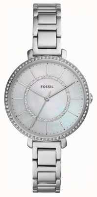 Fossil Womens jocelyn | zilveren roestvrij stalen horloge ES4451