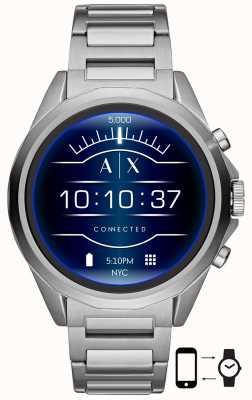 Armani Exchange Verbonden | slim horloge | roestvrijstalen armband AXT2000