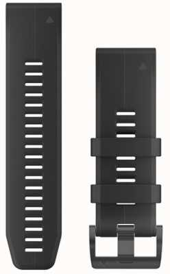 Garmin Zwarte rubberen strap quickfit 26mm fenix 5x / tactix charlie 010-12741-00