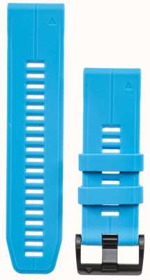 Garmin Blauwe rubberen strap quickfit 26mm fenix 5x / tactix charlie 010-12741-02