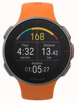 Polar Vantage v oranje gps multisport premium training uur 90070738