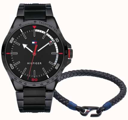 Tommy Hilfiger Cadeauset voor herenhorloge en armband 2770029