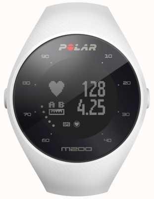 Polar Unisex witte m200 gps pols uur m / l 90067741