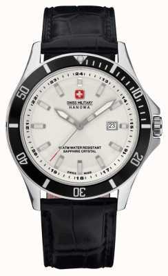 Swiss Military Hanowa Zwitserse heren militaire hanowa vlaggenschip horloge 6-4161.7.04.001.07