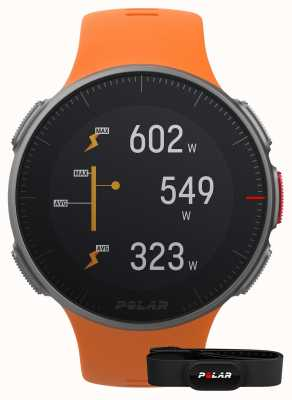 Polar Vantage v (met hr-band) gps multisport oranje band 90069666