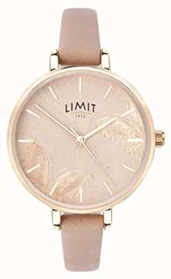 Limit | het geheime de tuinhorloge van vrouwen | perzik vlinder wijzerplaat | 60014