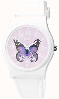 Limit | dames geheim tuinhorloge | paarse vlinderwijzerplaat | 60029.37