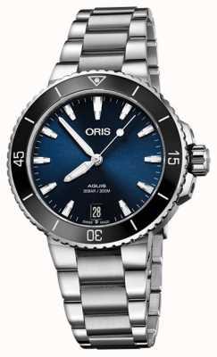 ORIS Aquis datum 36,5 mm middelgroot horloge 01 733 7731 4135-07 8 18 05P