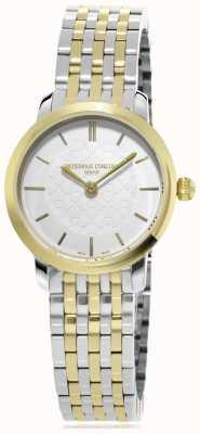Frederique Constant | vrouwen | two-tone slimline | metalen horloge | FC-200WHS3B