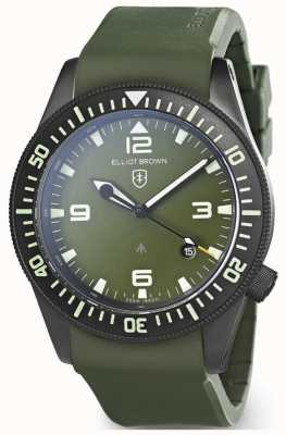 Elliot Brown | heren | holton professional | groen rubber 101-002-R04