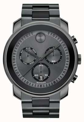 Movado | heren gewaagd chronograaf horloge | staalgrijs staal | 3600486