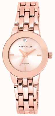 Anne Klein | dames agnes horloge | rosegouden armband | AK-N1930RGRG