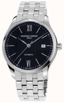 Frederique Constant Heren index slank automatisch horloge FC-303BN5B6B