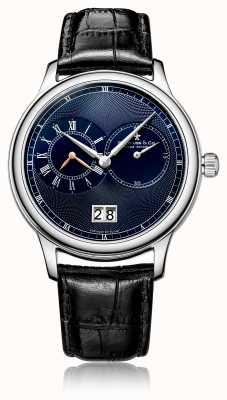 Dreyfuss Herenhorloge in zwart herenhorloge met quartz chronograaf DGS00120/05