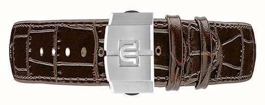Maurice Lacroix Aikon bruine kalfslederen horlogeband ML740-005050-ML508-005008