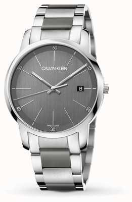 Calvin Klein | heren stadsuitbreiding horloge | tweekleurig roestvrij staal | K2G2G1P4