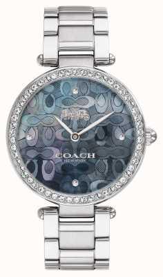 Coach | dames park horloge | roestvrij staal | 14503221