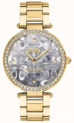 Coach | dames park horloge | tweekleurig zilver en goud | 14503222