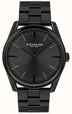 Coach Heren modern luxe zwart roestvrij staal 14602403