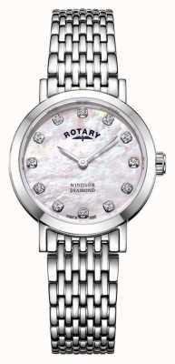 Rotary | parelmoer dameshorloge | LB05300/07/D