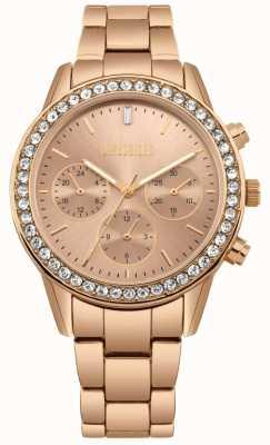 Missguided   rosé goud roestvrij staal   chronograaf MG002RGM
