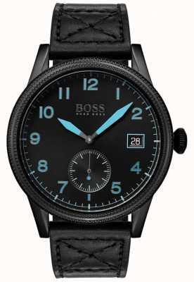 Boss   heren zwarte erfenis   zwart roestvrij staal   1513672