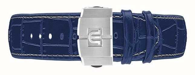Maurice Lacroix Aikon 44 mm automatische chronograaf blauwe leren riem alleen ML740-005057-ML508-005008