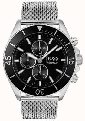 Boss | mens ocean edition stalen horloge | 1513701