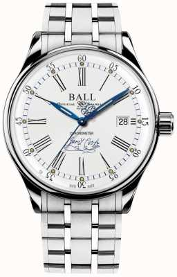 Ball Watch Company Trainmaster endurance chronometer limited edition armband NM3288D-S2CJ-WH
