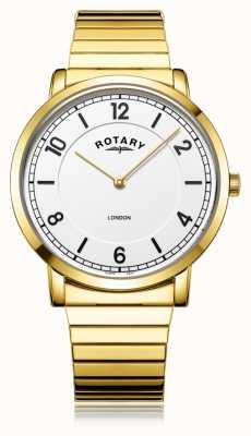 Rotary | heren vergulde armband | GB02766/18