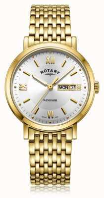 Rotary | heren vergulde armband | GB05303/09