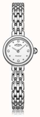 Rotary roestvrijstalen damesarmband | LB05152/70/D