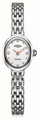 Rotary roestvrijstalen damesarmband | LB05150/02/D