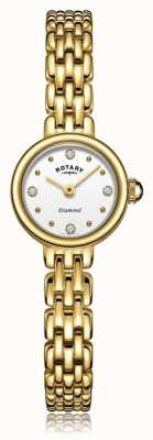 Rotary | dames vergulde armband | LB05153/02/D