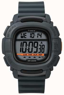 Timex | boost shock grijs digitaal | rubberen band TW5M26700SU